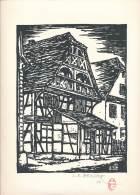 Ensemble  Gravure  - Ex Libris  Signés Louis René Becker ( Voir Scans Et Description) - RARE - Estampes & Gravures