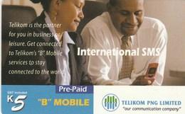 "Papua New Guinea - ""B""Mobile - International SMS - Papua New Guinea"