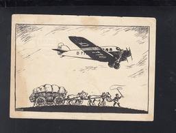Dt. Reich PK Lufthansa 1926 Gelaufen - 1919-1938