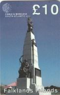 Falkland Islands - Statue - Falkland Islands