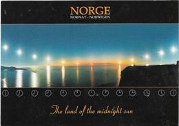 Norvège - The Land Of The Midnight Sun - 1 Timbre Philatélique Au Verso - Voir Scan - Cpm - écrite - - Norvège