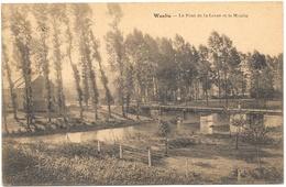 Wanlin NA6: Le Pont De La Lesse Et Le Moulin 1929 - Houyet