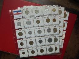 """BALKANS-BEAU LOT DE 86 MONNAIES DATES ET TYPES """"DIFFERENTS"""" !!! (650 Grammes) - Coins & Banknotes"""