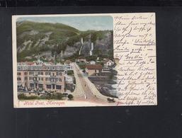 Schweiz AK Hotel Post Meiringen 1907 - BE Bern