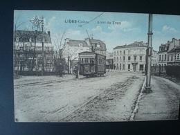 Liège Cointe : Arrêt Du Tram Et Le Café Du Kursaal - Liege