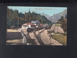 Schweiz AK Station Brünig 1908 - BE Bern