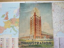 L'Illustration La Nouvelle Imprimerie De L'Illustration à Bobigny 1-er Juillet 1933 - 1900 - 1949