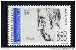 France 2685 Neuf ** (Jacques Prévert)   - Cote 1,30€ - France