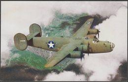 Consolidated B-24 Liberator Long-Range Bomber - Ww2cards Postcard - 1939-1945: 2nd War