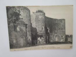 Villefranche Sur Cher. Chateau De La Commanderie (1558). ND 70 Postmarked 1922. - Autres Communes