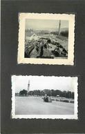 GRENOBLE (isère)- Tour D'orientation,course Auto/moto Le 18 Juin 1950 ( Photos Format 7cm X 4,6cm Et 6cm X5,4cm). - Lieux