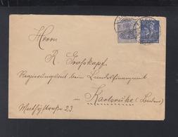 Dt. Reich Brief 1922 MiF Mit Dt. Reich - Briefe U. Dokumente