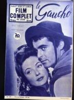 Mon Le Film Complet Le Gaucho Gene Tierney Rody Calhoun  4eme De Couverture Bella Darvi - Journaux - Quotidiens