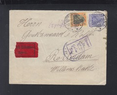 Dt. Reich Rheinlandbesetzung Expresbrief 1919 Nach Holland US Zensur - Deutschland