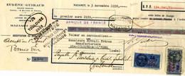 Timbres Fiscaux Sur Reçu Notarial - Fiscaux