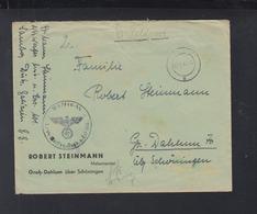 Dt. Reich Waffen SS Feldpost 1944 Sombor Ukraine - Briefe U. Dokumente