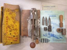 Boite Rechargement Douille Recalibreur Samson De Chasse Cal:16 équipable Du Cal:10 à Cal:20 - Armes Neutralisées
