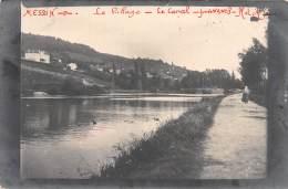 54 - MEURTHE ET MOSELLE / Messein - 544620 - Carte Photo - Le Canal - Beau Cliché - France