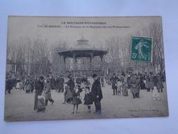 SAINT -BRIEUC : Le Kiosque De La Musique Sur Les Promenades   ,n°2146 - Saint-Brieuc
