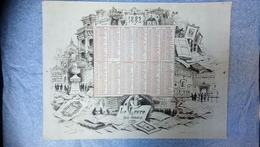 Calendrier 1882 - Calendars