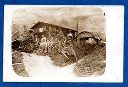 Carte Photo -  Soldats Allemands Au Repos - War 1914-18