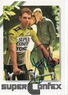 CYCLISME TOUR  DE  FRANCE  Autographe  JEAN PAUL VAN POPPEL - Cyclisme