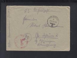 Dt. Reich SS Feldpost 23244 C Faltbrief Leibstandarte Adolf Hitler 1944 - Briefe U. Dokumente