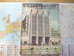 L'Illustration Exposition De Bruxelles 25 Mai 1935 - Books, Magazines, Comics