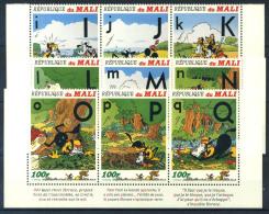 Mali 1996 Mi. 1631-1639 Nuovo ** 100% Walt Disney - Mali (1959-...)