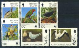 Isole Pitcairn 1996 Mi. 487-492 Nuovo ** 100% Protezione Della Natura, Uccelli - Francobolli