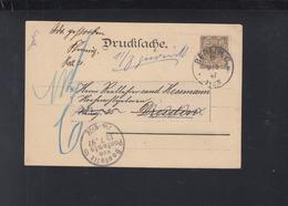 Dt. Reich Privatganzsache 1897 Gartenbau-Austellung Gelaufen - Deutschland
