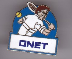 Pin's  RPLAND GARROS ONET - Tennis