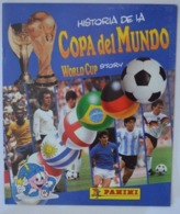 Panini 1x Album FIFA World CuP Story EMPTY No Results Entered Copa Del Mondo; World Cup Finalists - Sports