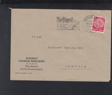 Dt. Reich Brief 1939 Berlin Eisenbahn-Signalwerke Lochung Perfin - Briefe U. Dokumente