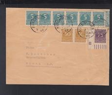 Dt. Reich Brief 1923 Augsburg Nach Fürth - Briefe U. Dokumente