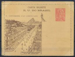 Brasile 1906 Intero Postale 100% 100 R - Postal Stationery