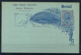 Brasile 1896 Intero Postale 100% UPU, 80 Reis - Postal Stationery