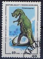 PIA  - 1994 : MADAGASCAR - Animali Preistorici - Ceratosaurus - Madagascar (1960-...)