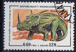 PIA  - 1994 : MADAGASCAR - Animali Preistorici - Styvacosaurus - Madagascar (1960-...)