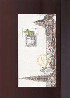 Belgie 2000 2898 WWF Frog Reptiles Herdenkingskaart RR Cancel St Gallen Switzerland - Souvenir Cards