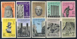 Yemen 1961 Mi. 215-224 Nuovo ** 100% Arte, Cultura - Yemen