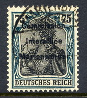 MARIENWERDER 1920 (27. March)  Overprint On Germany  75 Pf., Used,   Michel 18 - Germany