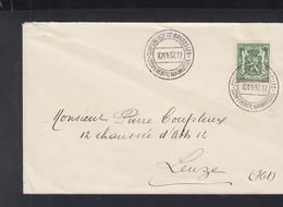 Brief Conference De Bruxelles 1937 - Poststempel
