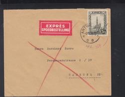 Belgien Expresbrief 1936 Nach Deutschland - Belgien