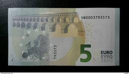 EURO SPAIN 5 VB V007 DRAGHI UNC VB0003 - 5 Euro