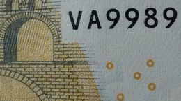 EURO SPAIN 5 V007 VA99 NOT VB DRAGHI UNC VA9989 - 5 Euro
