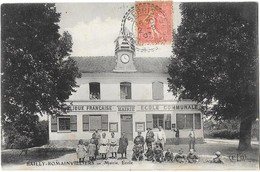 BAILLY ROMAINVILLIERS (77) Mairie école Belle Animation - Otros Municipios