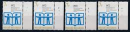BELGIE - OBP Nr 1618 - Jaar Van Het Boek - PLAATNUMMER 1/4 - MNH** - 1971-1980