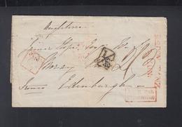 Faltbrief 1838 Konstanz Nach Scotland Bale Par Strasbourg London - Deutschland
