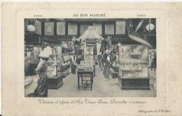 Paris - Au Bon Marché - Vitrines D'objets D'Art, Vieux Saxe,Dentelles Anciennes - France